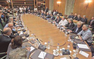 Κατά τη χθεσινή πρώτη συνεδρίαση του Υπουργικού Συμβουλίου, ο πρωθυπουργός Αλ. Τσίπρας, αναφερόμενος προς τους υπουργούς, είπε ότι «με βάση το έργο και την αποτελεσματικότητά σας θα κριθείτε», προσθέτοντας ότι «δεν είστε μόνιμοι, κανένας μας δεν είναι μόνιμος».