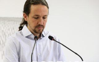 Προβληματισμό, και όχι μόνο στον επικεφαλής του Podemos Πάμπλο Ιγκλέσιας (σε χθεσινή φωτογραφία) που υπέστη ήττα, προξένησε το αποτέλεσμα των εκλογών της Κυριακής στην Καταλωνία. Αν και δεν απέσπασαν την απόλυτη πλειοψηφία του εκλογικού σώματος, οι αυτονομιστές εξασφάλισαν αυτοδυναμία στο τοπικό Κοινοβούλιο, καθιστώντας σαφές ότι το στάτους κβο μεταξύ Μαδρίτης και Βαρκελώνης δεν είναι διατηρήσιμο.