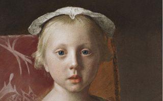 Πορτρέτο από τον Ελβετό ζωγράφο Jean-Etienne Liotard (1702-89).