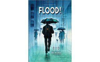 Το εξώφυλλο της επανέκδοσης του «Flood!», το οποίο ο Eric Drooker ολοκλήρωσε σε διάστημα επτά ετών.