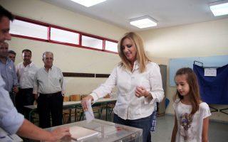 Η κ. Γεννηματά συνεχάρη τηλεφωνικά χθες τον κ. Αλ. Τσίπρα για τη νίκη του.