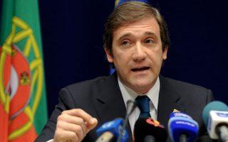 Ο πρωθυπουργός Πέδρο Πάσος Κοέλιο βλέπει το πρόγραμμα δημοσιονομικής προσαρμογής να αποδίδει καρπούς.