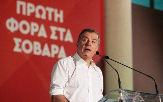 Επιφυλακτικός ως προς τις προθέσεις του εμφανίσθηκε χθες ο Στ. Θεοδωράκης.