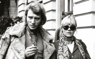 Ο βασιλιάς του ροκ και η βασίλισσα του γιε-γιε τη δεκαετία του '70.