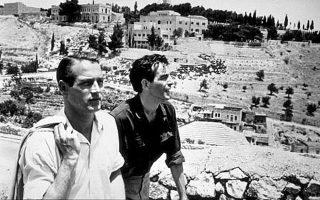 Πολ Νιούμαν και Σαλ Μινέο στην ταινία «Εξοδος», που εκτυλίσσεται στο Ισραήλ το 1947-48.