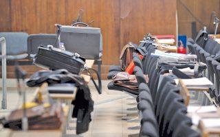 Η αδυναμία της πολιτείας να διαθέσει αίθουσα για τη δίκη της Χ.Α. έχει απασχολήσει ιδιαίτερα το δικαστήριο.