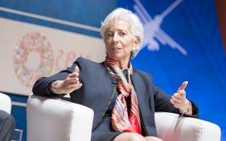 H επικεφαλής του ΔΝΤ Κριστίν Λαγκάρντ προειδοποίησε ότι οι αναδυόμενες οικονομίες αναμένεται να πληγούν από νέο κύμα μαζικών εκροών κεφαλαίων εν αναμονή της αύξησης των επιτοκίων από τη Federal Reserve.