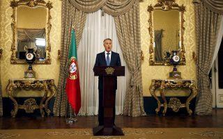 Ο Πορτογάλος πρόεδρος Σίλβα ανακοινώνει ότι ανέθεσε την εντολή σχηματισμού κυβέρνησης στον κεντροδεξιό Πέδρο Πάσος Κοέλιο.