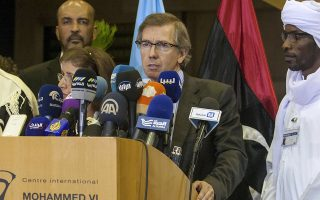 Ο ειδικός απεσταλμένος του ΟΗΕ στη Λιβύη, Μπερναρντίνο Λεόν ανακοινώνει την δημιουργία κυβέρνησης εθνικής ενότητας
