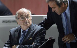 Ο πρόεδρος της διεθνούς ομοσπονδίας Ζεπ Μπλάτερ φέρεται να κατέβαλε 1,75 εκατ. ευρώ στον πρόεδρο της UEFA, Μισέλ Πλατινί, όταν ο τελευταίος εκτελούσε χρέη προσωπικού συμβούλου του πρώτου.