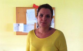 Η Λένια Αηδονίδου στην ειδικά διαμορφωμένη τάξη για παιδιά από τεσσάρων ετών στην «Αμυμώνη».