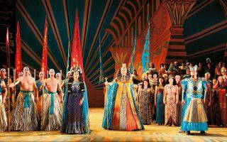 «Αΐντα» , Εθνική Αγγλική Οπερα (2007), σε κοστούμια της Ζάντρα Ρόουντς.