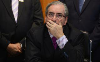 Ο πρόεδρος της Βουλής της Βραζιλίας διαψεύδει κατηγορηματικά όσα του προσάπτονται.