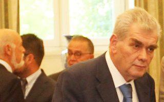 Ο αναπληρωτής υπουργός, που έχει την ευθύνη του σχετικού χαρτοφυλακίου, Δημήτρης Παπαγγελόπουλος.