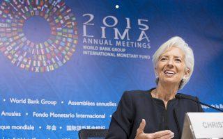 Η επικεφαλής του ΔΝΤ Κριστίν Λαγκάρντ θεωρεί αντιπαραγωγική μία πρώιμη συζήτηση για το χρέος, τη στιγμή που είναι ανοιχτές οι μεταρρυθμίσεις, η πρώτη αξιολόγηση και η ανακεφαλαιοποίηση των τραπεζών.