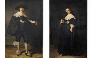 Εκδηλη είναι η ικανότητα του Ρέμπραντ να φωτίζει τα θέματα στους πίνακές του, όπως φαίνεται και στα πορτρέτα του Μάρτεν Σέλμαν και της Επιεν Κόπιτ.