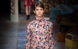 Pixelformula  Erdem Womenswear  Winter 2015 - 2016 Ready To Wear  London