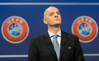 Υποψήφιος για τον προεδρικό θώκο της FIFA είναι και ο γενικός γραμματέας της UEFA, Τζάνι Ινφαντίνο.