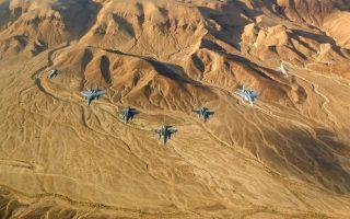 Φωτογραφίες: Ισραηλινή Πολεμική Αεροπορία