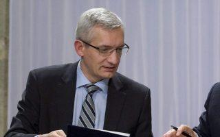 Ο εκπρόσωπος του Γερμανού υπουργού Οικονομικών, Μάρτιν Γέγκερ.