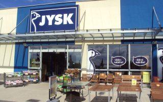Χαρακτηριστική  περίπτωση είναι η δανική Jysk, η οποία εγκαινίασε πρόσφατα το πρώτο κατάστημά της στην Ελλάδα, στα Κάτω Πατήσια. Στόχος της Jysk, εφόσον τύχει της αποδοχής που επιθυμεί από το ελληνικό καταναλωτικό κοινό, είναι να γίνει «εθνική» αλυσίδα με καταστήματα σε όλη τη χώρα.