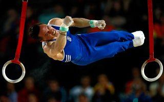 Μία κύστη στον καρπό του δεξιού χεριού δεν στάθηκε ικανή να εμποδίσει τον Ελληνα γυμναστή να πάρει την πρόκριση.