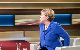 Σε συνέντευξή της στη δημοσιογράφο Ανε Βιλ, η Γερμανίδα καγκελάριος Αγκελα Μέρκελ εμφανίστηκε χειμαρρώδης, υπεραμυνόμενη της πολιτικής της στην προσφυγική κρίση.