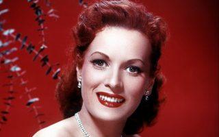 Η Μορίν Ο' Χάρα την εποχή της ακμής, στη δεκαετία του 1950.