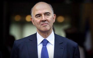Ο επίτροπος Οικονομικών υποθέσεων, Πιερ Μοσκοβισί.