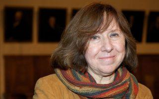 Η Λευκορωσίδα συγγραφέας Σβετλάνα Αλεξίεβιτς ανανεώνει με τη βράβευσή της το ενδιαφέρον για την «τεκμηριωτική» λογοτεχνία.