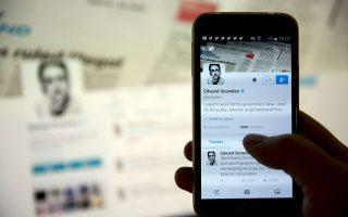 Ο Εντουαρντ Σνόουντεν, που μπήκε προχθές στο Twitter, απέκτησε 800.000 ακολούθους σε μόλις 24 ώρες.