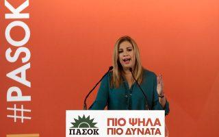 Τη Συντονιστική Επιτροπή των Συλλόγων Γονέων Ιδιωτικών Σχολείων Ελλάδος συνάντησε χθες  η κ. Φώφη Γεννηματά.