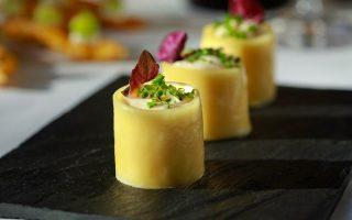 Η εκδοχή του παστίτσιου από το εστιατόριο Funky Gourmet.