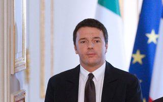 Η Ιταλία επανέρχεται σε ρυθμούς ανάπτυξης παρά το γεγονός ότι ο υπόλοιπος κόσμος δεν τα πάει τόσο καλά, δήλωσε χθες ο πρωθυπουργός της Ιταλίας, Ματέο Ρέντσι.