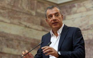 Ο κ. Θεοδωράκης προανήγγειλε ότι δεν προτίθεται να συμπράξει με κανέναν αν χρειαστεί να προκύψει νέα κυβέρνηση από την παρούσα Βουλή.