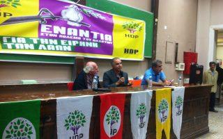 Ο Εγιούπ Ντορού, επικεφαλής του ευρωπαϊκού τμήματος του «Κόμματος των Λαών» (HDP), μίλησε στο Οικονομικό Πανεπιστήμιο.