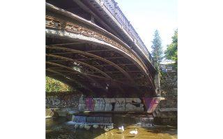Η γέφυρα των Τρικάλων είναι ένα εξαιρετικό έργο του 19ου αιώνα.