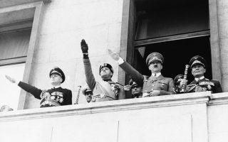 Τον Μάιο του 1939, ο Χίτλερ υπογράφει συμφωνία με τη φασιστική Ιταλία, προτού προσκαλέσει τους Ιταλούς αντιπροσώπους σε χορτοφαγικό γεύμα.