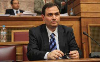 Ο πρώην υπουργος Οικονομικών και νυν στέλεχος του ΚΙΔΗΣΟ Φίλ. Σαχινίδης.