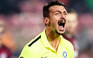 Οι παίκτες του Αστέρα Τρίπολης δεν κατάφεραν να πάρουν θετικό αποτέλεσμα στην Πράγα.