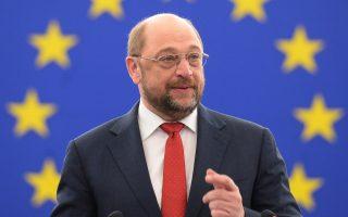 Ο πρόεδρος του Ευρωπαϊκού Κοινοβουλίου Μάρτιν Σουλτς συμμετείχε στην Επιχειρηματική Διάσκεψη Κορυφής 2020 στις Βρυξέλλες.