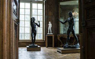 Ανανεωμένος Rodin. Από το 1919 ξεκινά η ιστορία του μουσείου Rodin στο Παρίσι που στεγάζεται στο Hotel Biron. Μετά από τρία ολόκληρα χρόνια που διήρκεσε η ανακαίνιση του μουσείου, είναι έτοιμο για να ανοίξει πάλι για το κοινό. AFP PHOTO / JOEL SAGET