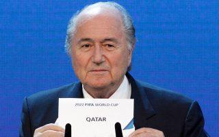 Οταν ο Μπλάτερ άνοιγε τον φάκελο με το Κατάρ, ελάχιστοι περίμεναν τι θα επακολουθούσε.