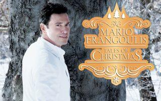 Ο Μάριος Φραγκούλης προετοίμαζε τέσσερα χρόνια τον δίσκο «Tales of Christmas» σε συνεργασία με τον μαέστρο Jorge Galsndrelli, τη Φιλαρμονική Ορχήστρα του Λονδίνου, τη σοπράνο Σάρα Μπράιτμαν, τη μέτζο σοπράνο Μέριλιν Χορν, καθώς και τη χορωδία των «Μικρών Μουσικών» του Ωδείου Αθηνών που θα συμμετάσχει και στις συναυλίες στο Παλλάς.