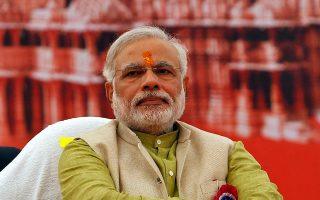 Ο πρωθυπουργός της Ινδίας, Ναρέντρα Μόντι.