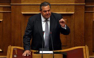 Μέχρι τη χθεσινή διαφωνία και διαγραφή του κ. Νικ. Νικολόπουλου, ο κ. Π. Καμμένος είχε επιτύχει να παραμείνει ενιαίο το κόμμα του σε όλες τις δοκιμασίες