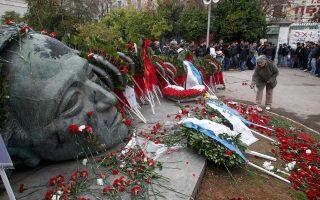 Στον εορτασμό έχει προσκληθεί και αναμένεται να καταθέσει στεφάνι και ο πρωθυπουργός Αλέξης Τσίπρας.