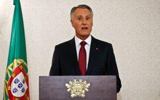 Ο συντηρητικος προέδρος Ανίμπαλ Καβάκο Σίλβα .