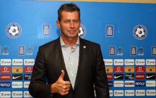 Ο Γερμανός προπονητής παρουσιάστηκε χθες στα ΜΜΕ.