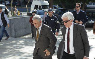 Στην Εισαγγελία του Αρείου Πάγου, ο υπουργός Δικαιοσύνης Νίκος Παρασκευόπουλος και ο αναπληρωτής υπουργός Προστασίας του Πολίτη Νίκος Τόσκας, για να καταθέσουν για την υπόθεση Πανούση, Τετάρτη 11 Νοεμβρίου 2015.  (EUROKINISSI/ΓΙΑΝΝΗΣ ΠΑΝΑΓΟΠΟΥΛΟΣ)
